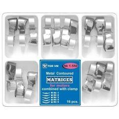 Matrici metalice asortate cu inel pentru premolari TOR VM