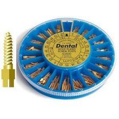 Kit pivoti endodontici 120 buc asortati + cheie